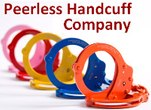 Model 750B - Chain Link Handcuff - Color Coated