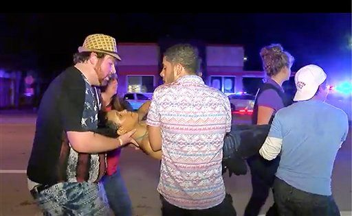 Victim carried out of Pulse nightclub Orlando