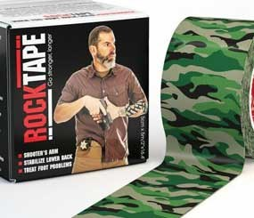 Uniquely, RockTape can be used to apply compression and promote recovery, as well as for decompression to relieve pain and swelling. (CorrectionsOne Image)