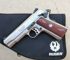 Ruger has recently introduced the SR1911CMD, a Commander-style 1911 handgun.
