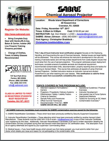 See larger version: https://publications.corrections1.com/2017/SABRE%20-%20Rhode%20Island%20Department%20of%20Corrections%20-%20OC%20Instructor%20Course%20-%2011-10-17.pdf