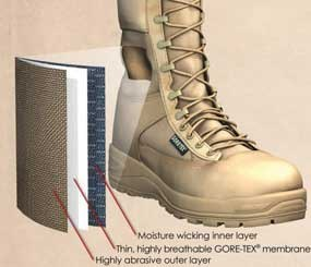 GORE-TEX Extended Comfort Footwear from W. L. Gore & Associates offer the breathability of a warm-weather boot, with the water-resistant benefits of waterproof boot.