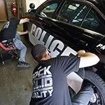 Law Enforcement Vehicle Rebranding