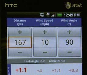 With the Shooter app, you can input target dimensions in US or Metric values and reticle measurements in Mils, MOA, or IPHY.