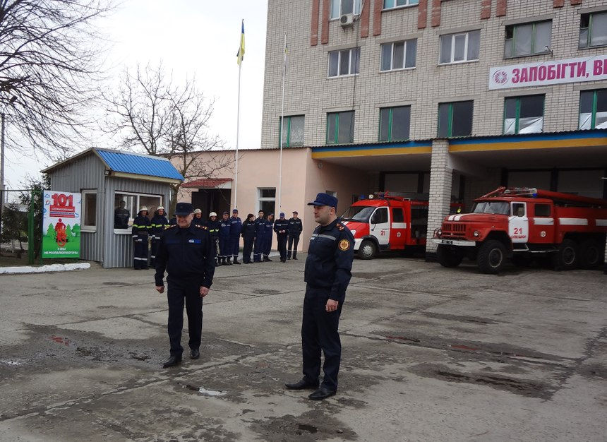 The IFRM recently visited several fire stations in Ukraine. (Photo/IFRM)