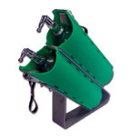 """Twin Slide-Out """"D"""" Cylinder Brackets With Mounting Stand"""