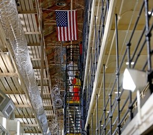 East Block at San Quentin State Prison, San Quentin, Calif., on Aug. 16, 2016. San Quentin opened in July 1852. It is the oldest prison in California.