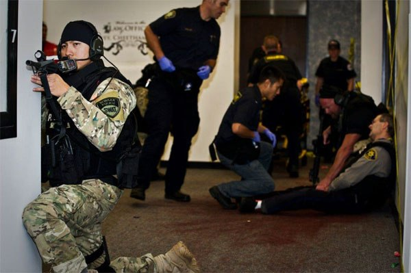 Urban Shield training for EMS and police response to active shooter