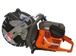 The VentMaster Cutoff Saw offers guard sizes from 12-16 inches with a 5-7.8 horsepower Husqvarna engine.