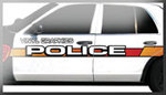 Stock Police Car Graphics