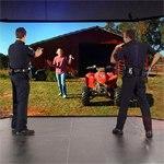 VirTra V-180LE® The Original Immersive Judgment Training Simulator