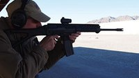SHOT Show 2014: Shooting the SIG556xi rifle and the P320 pistol