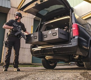 Now some agencies, like the Atlanta Police Department, issue fines and suspension for officers in violation of the department's gun storage rules.(image/TruckVault)