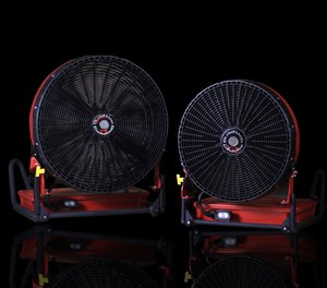 The new BlowHard fans are designed to withstand the same intense environments as firefighters themselves encounter.