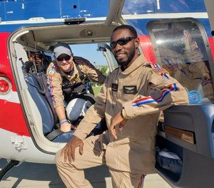 Trail-blazing Haitian EMT Claudel Gedeon, is hoping to complete his paramedic education in the United States.