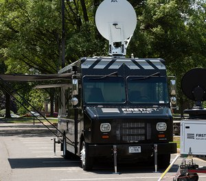 FirstNet hasstationed three communications vehiclesacross the country to provide an extra-level of communications support.
