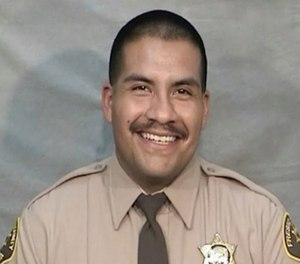 Randy Villalobos, 33, had worked with the sheriff's office since 2013.