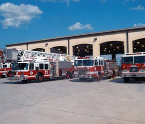 Fire departments should seek an expert when deciding where to move a fire station. (Photo/Robins Air Force Base)