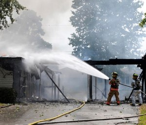 There are several toxic substances and carcinogens firefighters need to be aware of and protect against present in smoke.