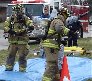 While firefighter attitudes were overwhelmingly favorable toward cleaning gear (knowledge), their actual decontamination and cleaning behaviors (doing) did not follow at the same level.