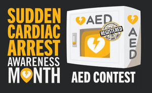 In honor ofSudden Cardiac Arrest Awareness month, in October, the PulsePoint Foundation will be holding a contest to encourage AED location identification and registration.