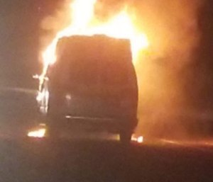 A fire department is currently left with only one working ambulance after its second rig caught fire.