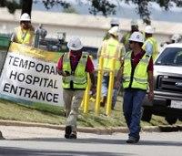 1 dead, 12 hurt in construction explosion at Texas hospital