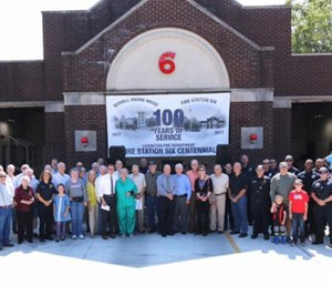"""In its early years, Station 6 was called the """"Scovell Engine House."""" (Photo/ Lexington Fire Department)"""