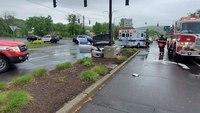 Conn. FF witnesses crash scene, rescues elderly man