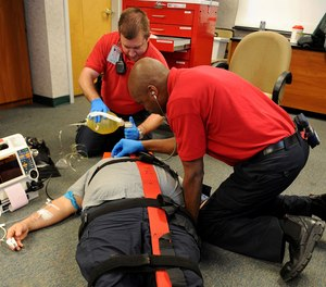 Traditional lecture-style classrooms are getting a new look in some foundational paramedic programs.