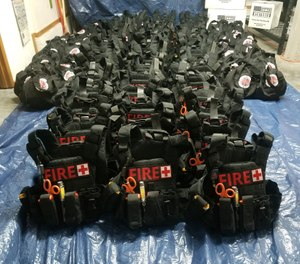 The Seattle Fire Foundation is seeking to raise enough money to equip every Seattle firefighter with body armor and helmets. The department currently has 70 sets of body armor. (Photo/Seattle Fire Foundation Facebook)
