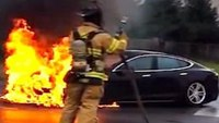 What firefighters need to know about electric car batteries