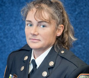 Former Asheville Fire Department Division Chief Joy Ponder has filed a federal gender discrimination lawsuit claiming she was reassigned to a desk job last year and that her previous position was given to a less-experienced male colleague.