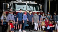 Mass. FF survives COVID-19 after 10 weeks in hospital