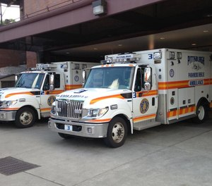Two Pittsburgh paramedics were injured after reportedly being attacked by a 911 caller in an incident that prompted a SWAT team response. (Photo/Pittsburgh Bureau of EMS)