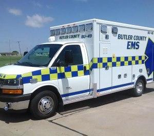 Butler County EMS of El Dorado, Kansas has been selected as the first-ever recipient of the National EMS Safety Council's Safety in EMS Award. (Photo/Butler County EMS Facebook)