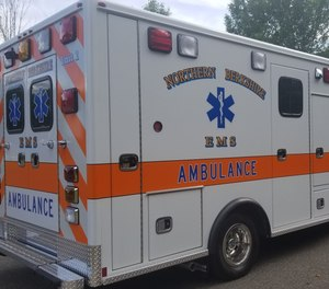 A Northern Berkshire EMS paramedic was assaulted and injured in the back of an ambulance on Saturday.