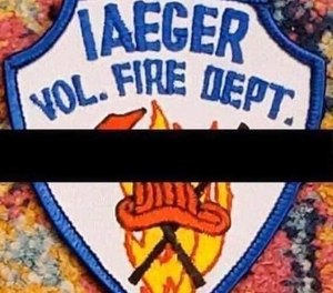 An Iaeger Fire Department volunteer firefighter died during a house fire on Sunday. (Photo/Iaeger Fire Department Facebook)