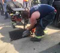 Man rescued from storm drain, tells FFs he wandered sewers for 3 days