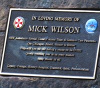 Plaque honoring Australian medic who died in the line of duty stolen for 2nd time