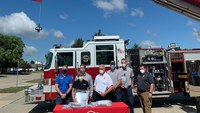 More than 600 face shields donated to Ill. first responders, nursing homes