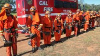 Third Calif. prison inmate walks away from firefighter training camp