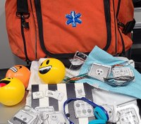 Mich. EMT creates ambulance kits for patients with autism