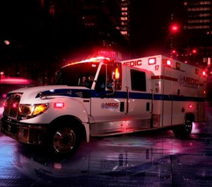 Deputy Director of MEDIC, JonStudnek, estimates that only 25% ofMEDIC'sresponses are for ALScalls as determined byMedical Priority Dispatch System (MPDS), with the remainderbeingBLS and lower acuitycalls.(Photo/Mecklenburg EMS Agency - Medic)