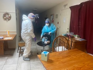 Williamson County community health paramedics have received a grant to assess COVID-19 risk and infection control at about 40 nursing homes and assisted living facilities now allowing visitors.
