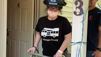 Photo of the Week: Firefighter returns home 4 months after on-duty injury