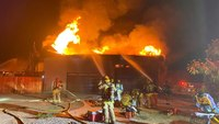Mayday: 4 Calif. FFs injured in patio roof collapse
