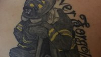 Never forget: Firefighters commemorate 9/11 with tattoos