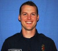 Wash. fire lieutenant back on duty after heart transplant