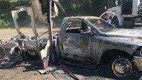 Reward offered in investigation into stolen, burned Ore. ambulance